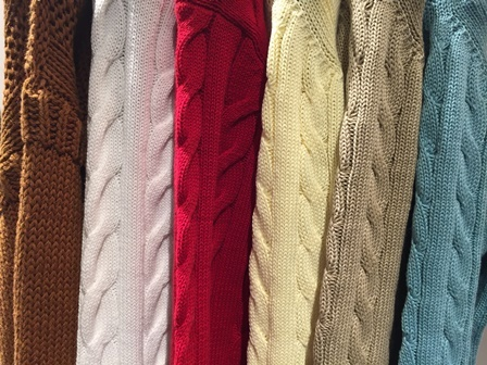 """『 Spring """"KNIT"""" has come! 』"""