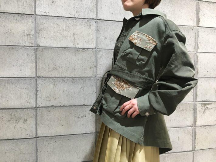 「leur logette」 ツイルダブルクロスジャケット