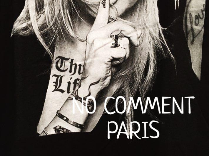 New Arrival 【NO COMMENT PARIS】