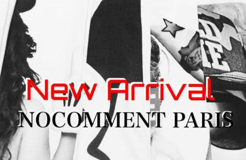 New Arrival 【NO COMMENT PARIS】