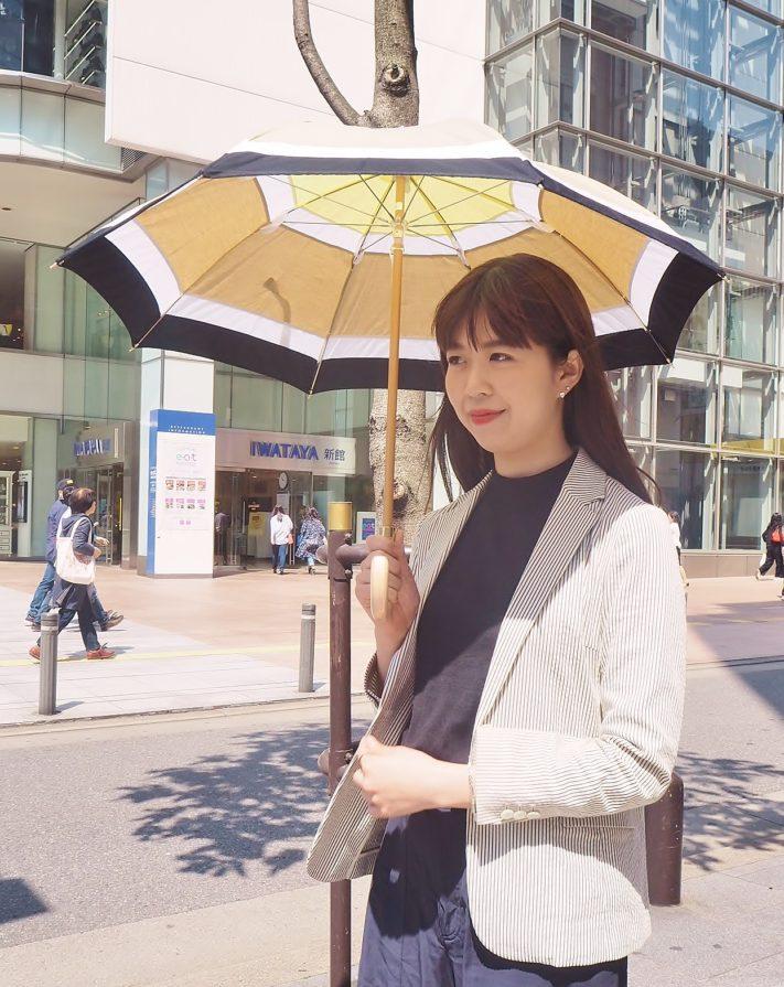 今年の日傘は♪