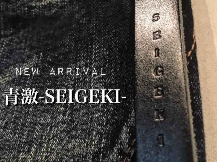 New Arrival【青激-SEIGEKI-】
