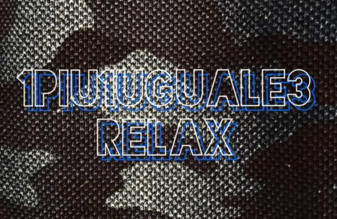 New Arrival  【1PIU1UGUALE3 RELAX】