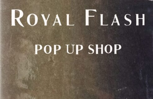 6.16fri 4F「ROYAL FLASH POP UP SHOP」OPEN!