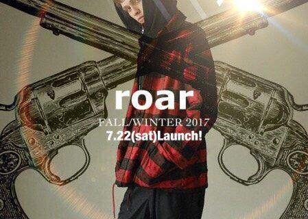 2017F/W【roar】最新情報!!