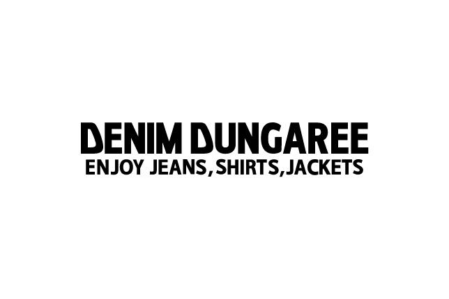 DENIM DUNGAREE