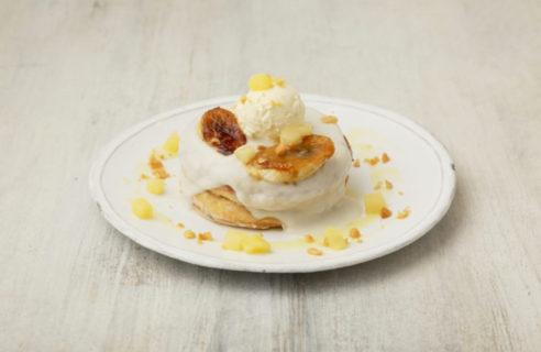 【8月限定】濃厚なめらかココナッツクリームのパンケーキ