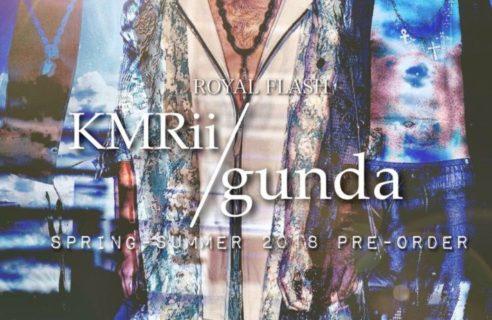 【KMRii&gunda】PRE-ORDER開催!!