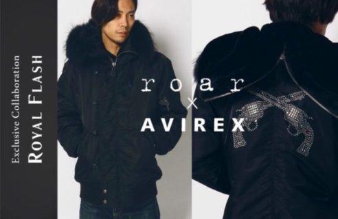 New Arrival 【roar×AVIREX】