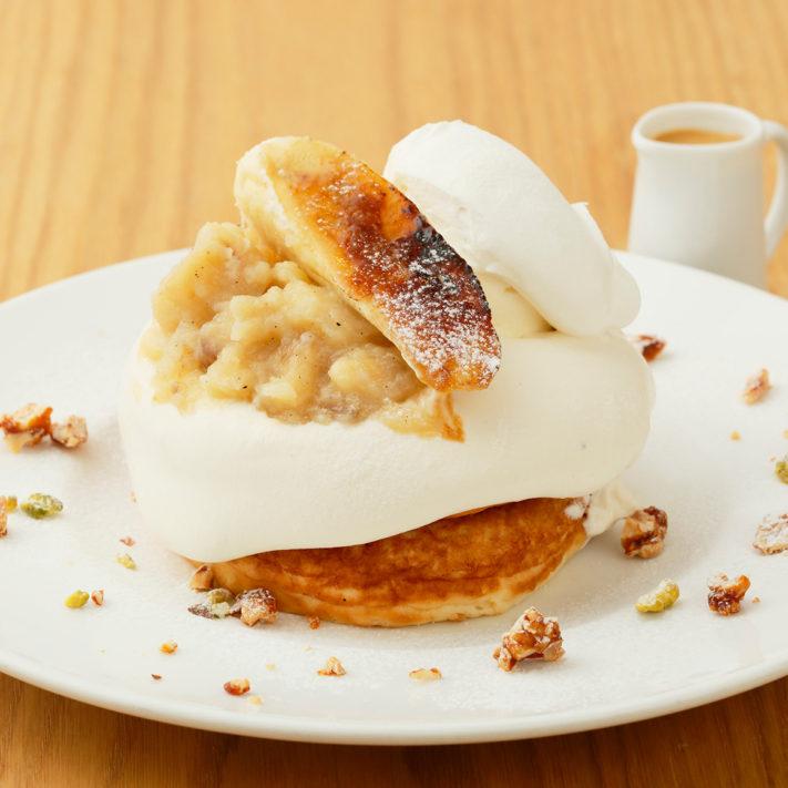 【1/31まで】バナナコンフィチュールとリコッタクリームのパンケーキ