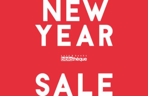 【開催中!】NEW YEAR SALE【ビブリオテーク】