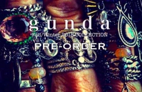 【gunda&KMRii】 2018AW PRE-ORDER開催!!