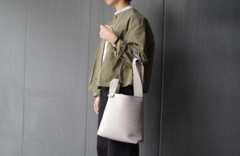 シンプルなデザインで無二の存在感を放つzattuのバッグ