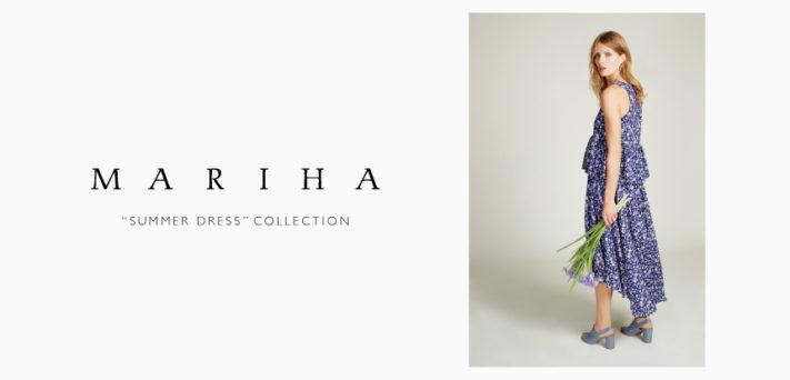 """MARIHA""""SUMMER DRESS""""collection 2018"""