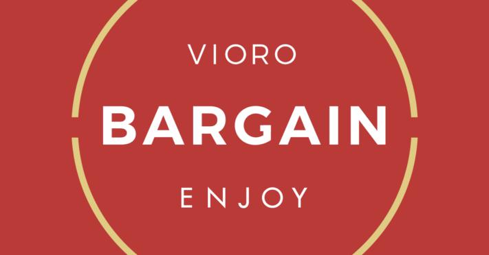 6/29 START! VIORO BARGAIN