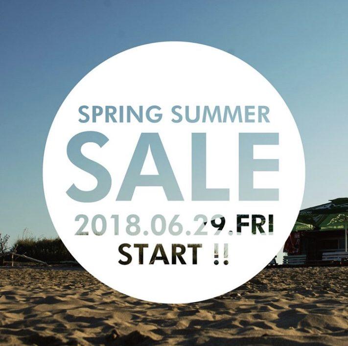 ★'18 SPRING/SUMMER SALE★
