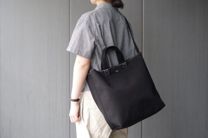 ムーンスターの生地を使った、STANDARD SUPPLYのバッグ。LT LOTTO AND TRESでしか買えない特別仕様で登場