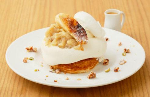 【期間限定】バナナとリコッタクリームのパンケーキ【9.1-9.19】