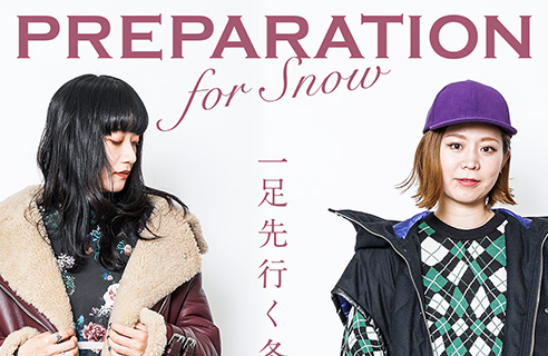 VIORO 2018 WINTER PREPARATION for snow 一足先行く冬支度