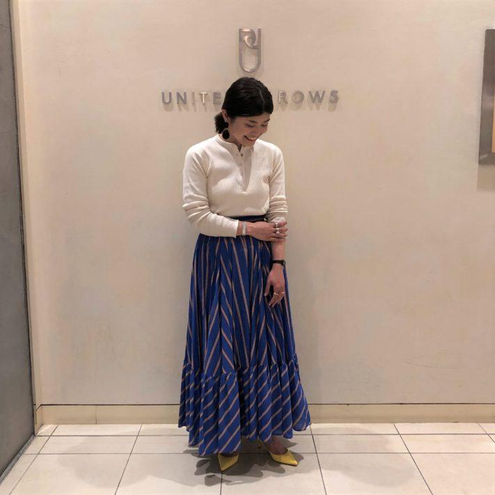スタッフコーディネート~お勧めスカート~