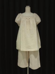 IKUKO ☆ 夏の涼しいガーゼ ゆったりLサイズパジャマ