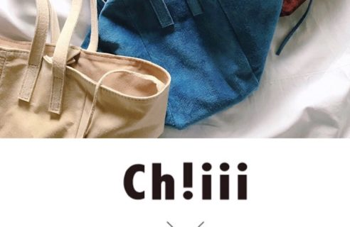 待望!「Ch!iii」 BAG 5/25~販売スタート!!