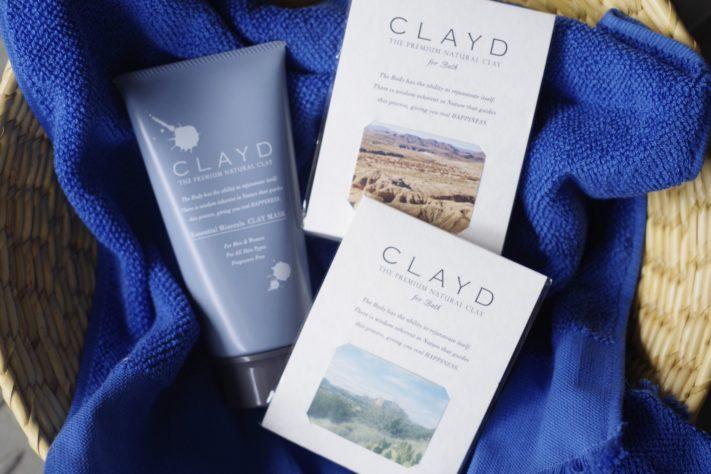 アメリカ西海岸のミネラル豊富な「CLAYD」