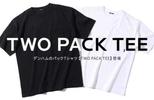 (日本限定)DENHAM TWO PACK TEE