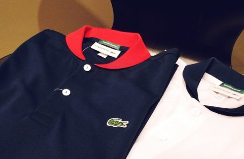 BEAMS GOLF×LACOSTE ポロシャツ