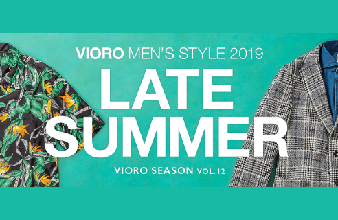 VIORO MEN'S STYLE 2019 LATE SUMMER