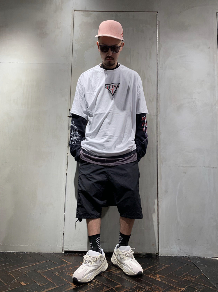 ROYAL FLASH 別注Tシャツ【GUESS】