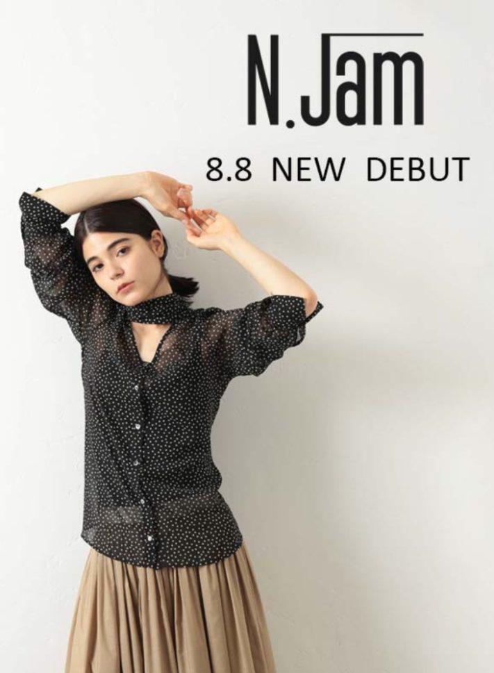 8.8.thu 「N.jam」デビュー!