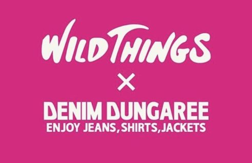 ★WILD THINGS×DENIM DUNGAREE★