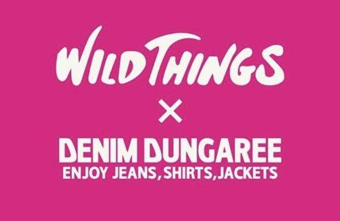 ★WILD THINGS×DENIM DUNGAREE★