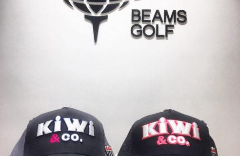 KIWI&Co. キャップ入荷✩