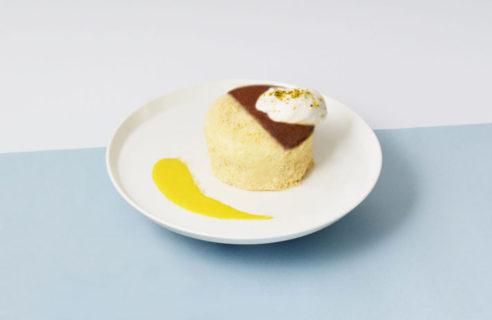 【CHEESE meets CAKE】北海道産クリームチーズのベイクド&レア 2層チーズケーキ