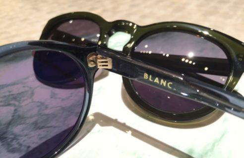 別注BLANC(ブラン)サングラスのご紹介!!
