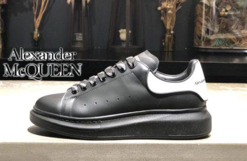 """【Alexander McQUEEN】""""Leather Sneaker"""""""