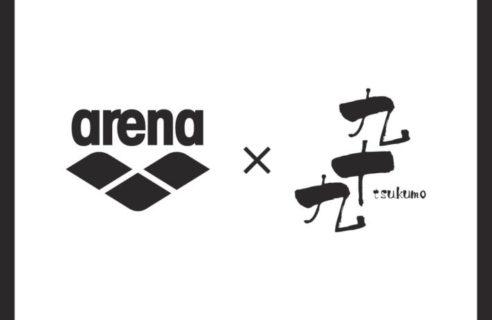 【arena×九十九(tsukumo)ビーチサンダル】