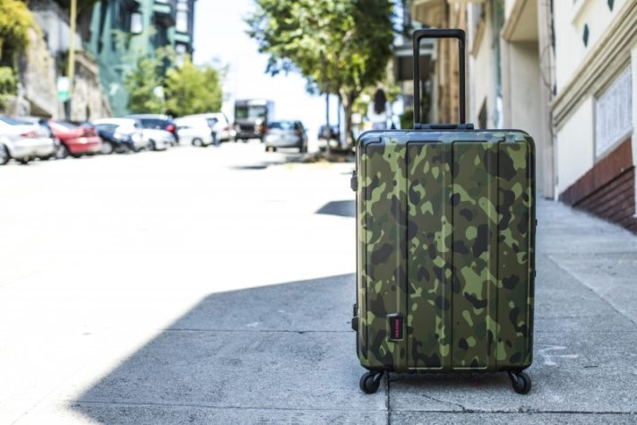 BRIEFING 【TROPIC CAMOUFLAGE HARD CASE】