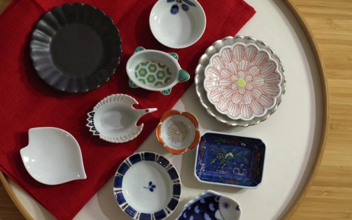 色も形も様々な「有田の豆皿展」