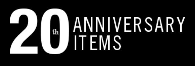 BRIEFING 【 20TH ANNIVERSARY LIMITED ITEMS / 20周年記念限定商品 】
