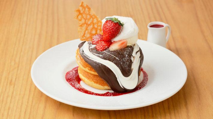 【あと3日!】ダブルショコラのパンケーキ ブラック&ホワイト