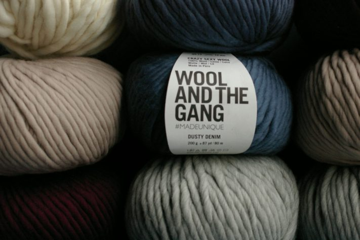 DIYファッションを提案するロンドン発WOOL AND THE GANG