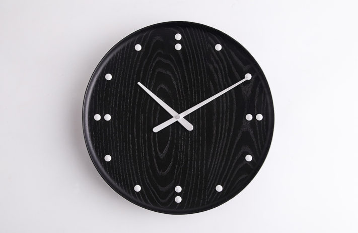 【11月DM,SNS,柱巻掲載希望】Finn Juhl WALL CLOCK BLACK