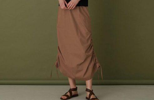 立体感が素敵なスカート