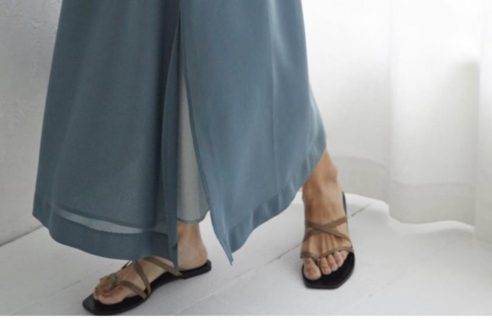 RIM.ARKならではのスカート
