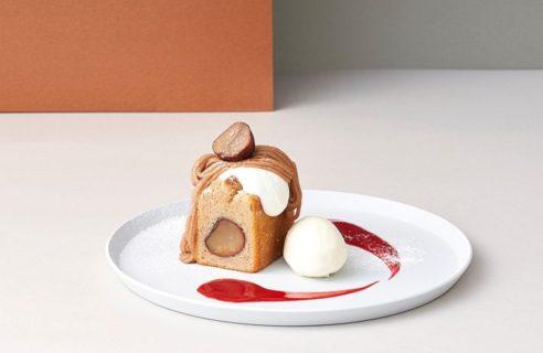 【モンブランフェア】モンブランパウンドケーキ