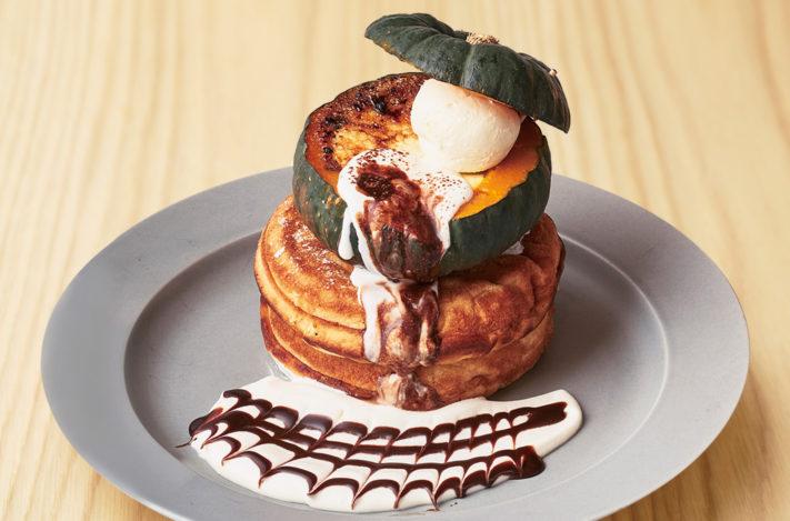 【10月限定!】まるごとかぼちゃのパンケーキ