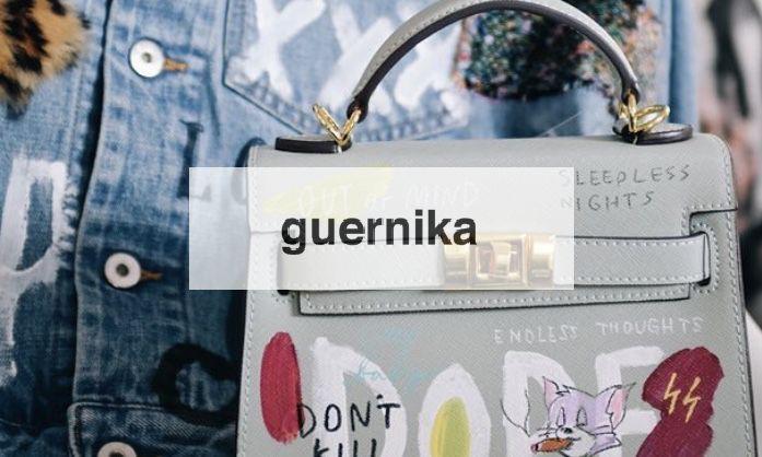 """【guernika / ゲルニカ】""""ペインティング バッグ"""""""